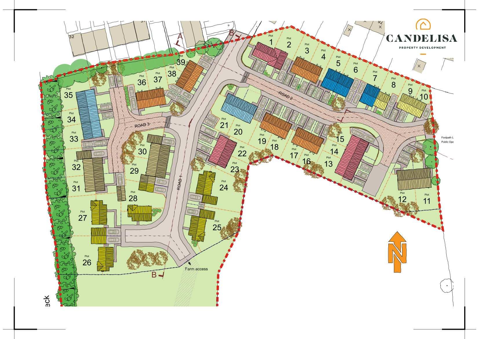 Candelisa - Site Plan C_Web Site Image