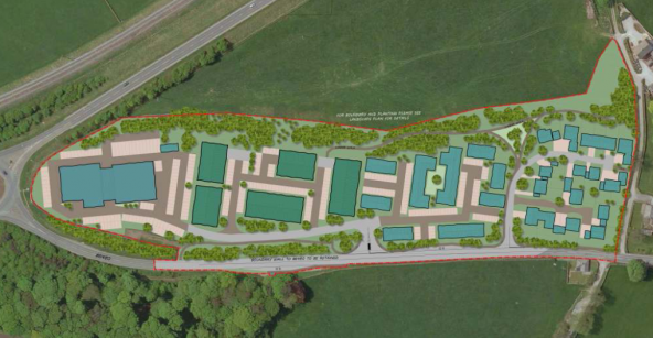 Green light for North Yorkshire business park development Anley Crag